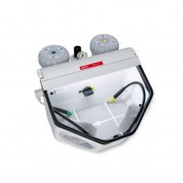 Cabine de sablage pour dentiste bijoutiers sableuse aérogommeuse