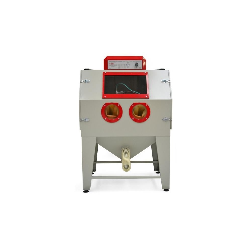 cabine de sablage pour travaux sablage et aérogommage ABM-MachinesCB Pal-3