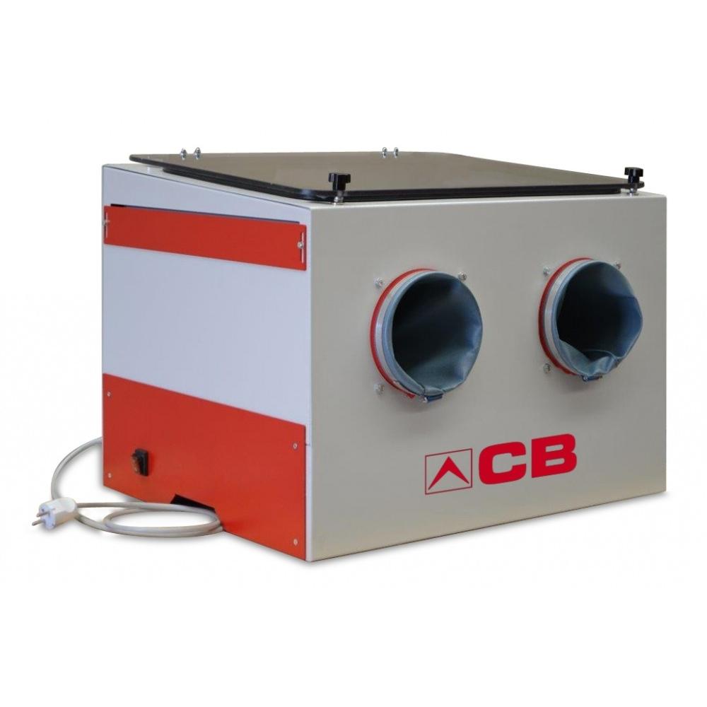 cabine de sablage pour travaux sablage et aérogommage ABM-Machines sablage d'établi