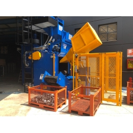 Cabines de sablage automatiques travaux sablage et aérogommage professionnels